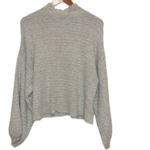 TOPSHOP Balloon Sleeve Sweater